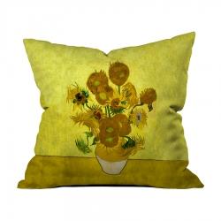 Vincent Van Gogh-Ayçiçekleri 4 Kırlent