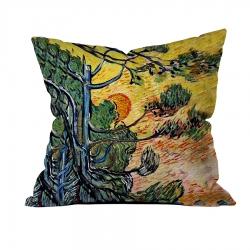 Vincent Van Gogh - Palmiye Ağaçları 1 Kırlent