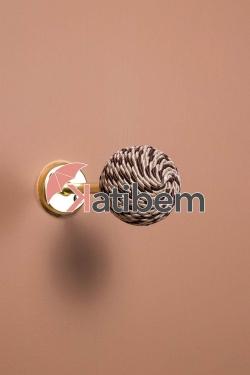 Kahverengi Örgülü Renso