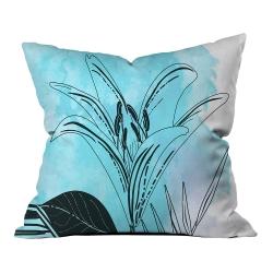 Mavi Yaz Yaprakları Kırlent 2