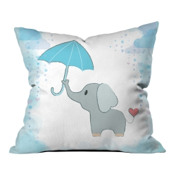 Şemsiyeli Filler Kırlent