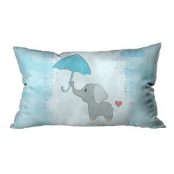 Şemsiyeli Filler Kırlent 2